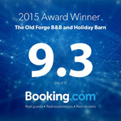 2015 Award Winner. 9.3 out of 10 Booking.com