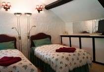 Twin bedroom Oswestry B and B