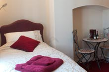 Twin bedroom at Oswestry B and B